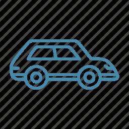 auto, automobile, car, drive, transport, travel icon