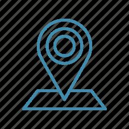 geo, map, mark, navigation, pin, tag icon