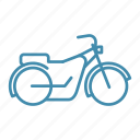 bike, chopper, motobike, ride, transport, transportation icon