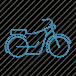 bike, chopper, motobike, ride, transport, transportation icon