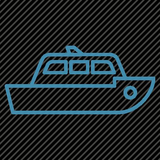 boat, nautical, sail, ship, transport icon