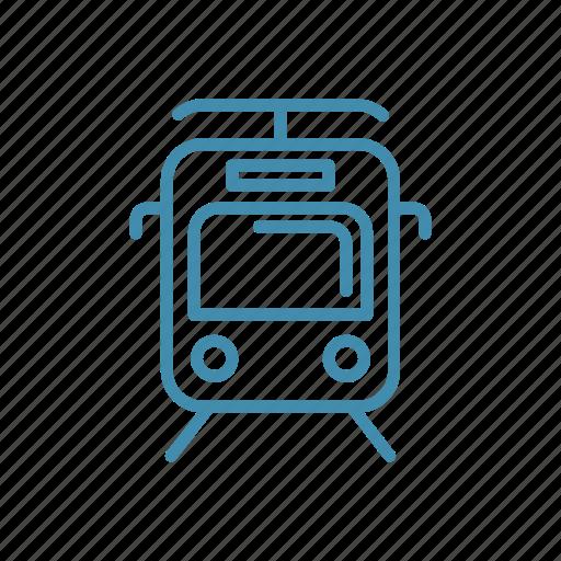 metro, subway, train, transport, travel icon