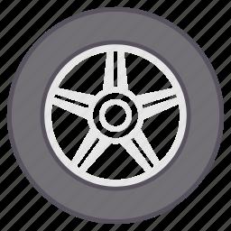 car, tyre, tyres, vehicle, wheel icon