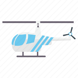 aircraft, airplane, helicopter, plane, transport, travel icon