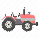 heavy, heavy vehicle, tractor, transport, transportation, vehicle, work icon