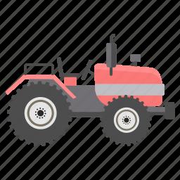 heavy, heavy vehicle, tractor, transport, transportation, vehicle, work icon