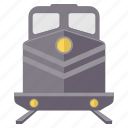 metro, rail, railroad, railway, railways, train, tramway icon