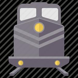 metro, rail, railroad, railway, railways, train, tramway icon