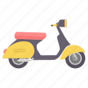 activa, motorbike, road, scooter, transport, transportation, vehicle icon