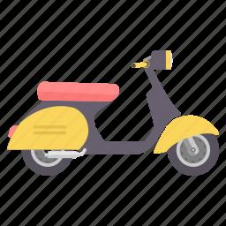 activa, motorbike, road, scooter, transport, transportation, vehicle icon