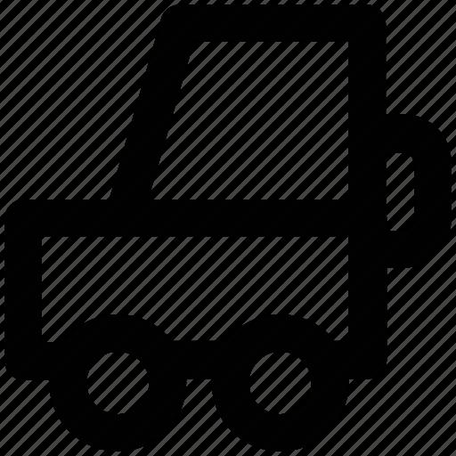automobile, car, jeep, transport, vehicle, vehicles icon