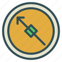 compass, direction, north, travel icon