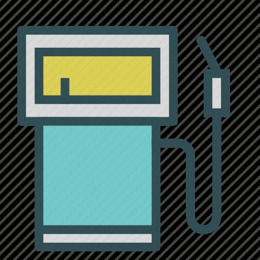 fuel, gas, pump, station icon