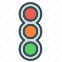lights, semaphore, traffic icon
