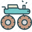 car, large, monster, truck, vehicle icon