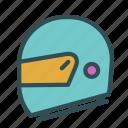 equipment, helmet, motorcicle icon