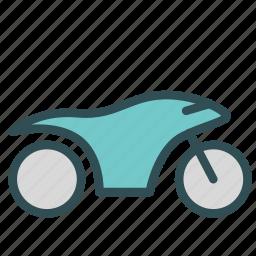 motorcicle, speeder, vehicle icon