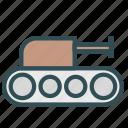 machine, military, tank, vehicle, war icon