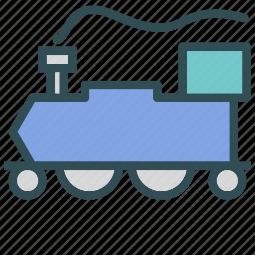 locomotive, public, train, transport icon