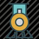 engine, old, public, steam, train, transport, vintage icon