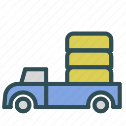 car, cargo, transport, truck, vehicle icon