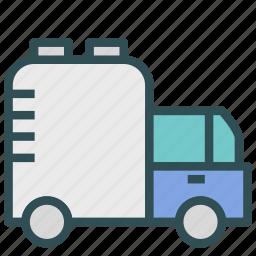 car, tank, transport, vehicle, water icon