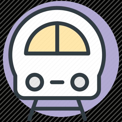 electric train, fast train, metro train, railway transportation, voyage icon