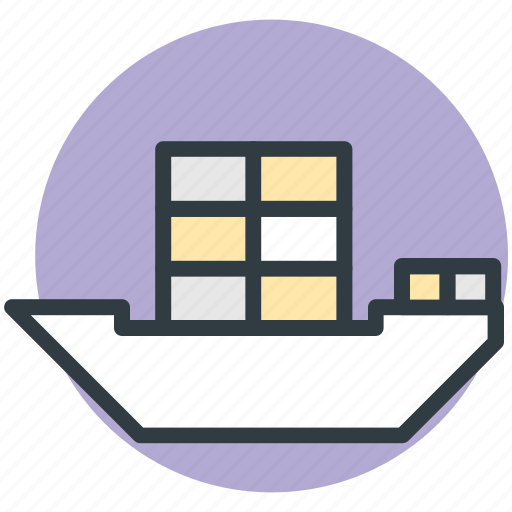cargo ship, luxury cruise, sailing vessel, shipment, shipping icon