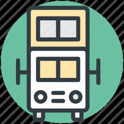 bus, double-decker, london bus, public transport, transport icon