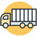 delivery, cargo truck, truck, lorry, shipping
