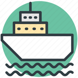 cruise liner, cruise ship, floating hotel, luxury liner, ocean liner, ship, travel, vacations icon