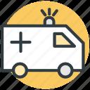 siren, ambulance, rescue, emergency vehicle, ambulance car