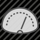 car, measure, speed, speedometer, traffic icon