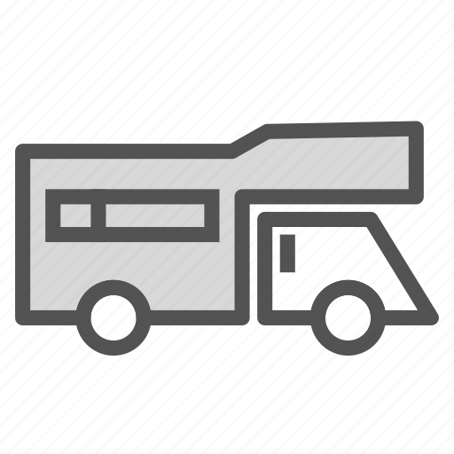 car, home, mobile, trailer, vehicle icon