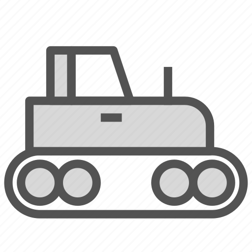 labor, tractor, truck, work icon