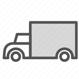 car, cargo, transport, truck icon