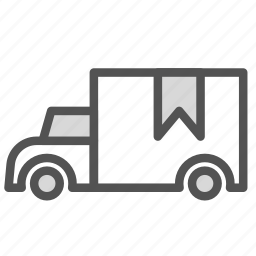 car, cargo, tag, transport, truck icon