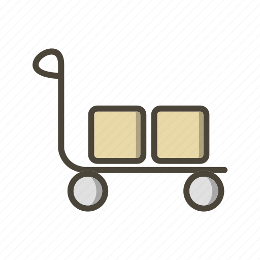 cart, retail, trolley icon
