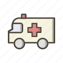 ambulance, emergency, medical