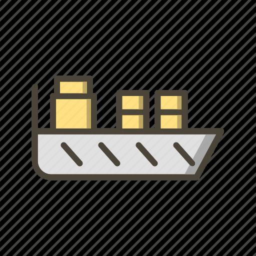 sail, ship, shipping icon