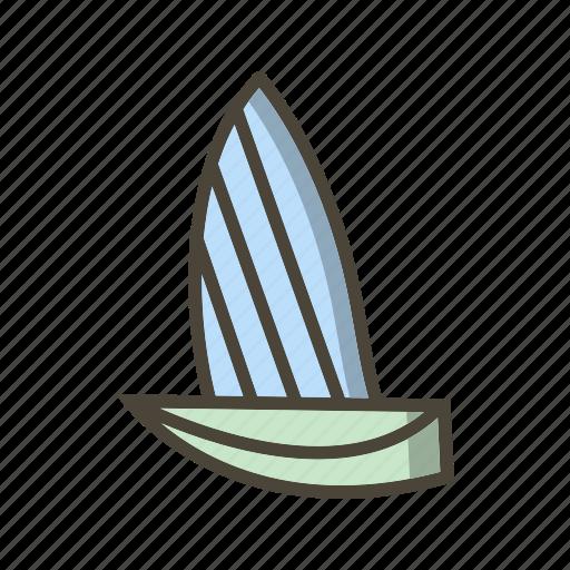 boat, ship, yacht icon