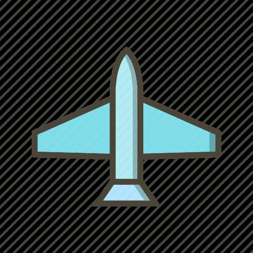 aeroplane, airplane, jet icon