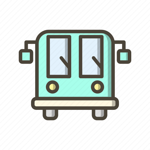 airport, bus, vehicle icon