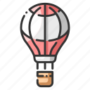 air, balloon, celebrate, celebration, festive, fun, helium icon