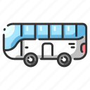 automobile, bus, car, drive, travel, trip, vehicle icon