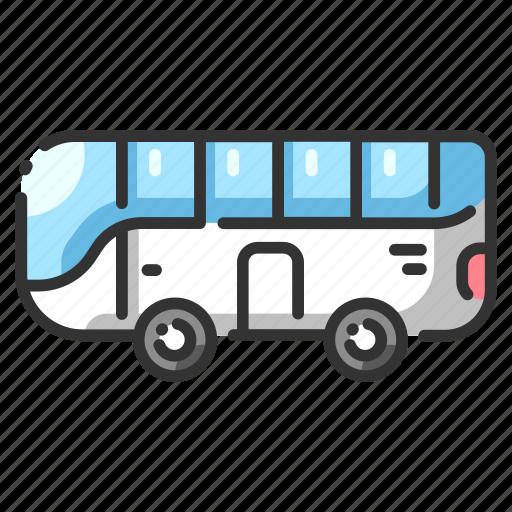 automobile, bus, car, drive, travel, trip, vehicle icon