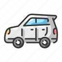 automobile, car, compact, cooper, drive, mini, vehicle icon
