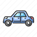automobile, car, drive, speed, traffic, vehicle, wheel icon
