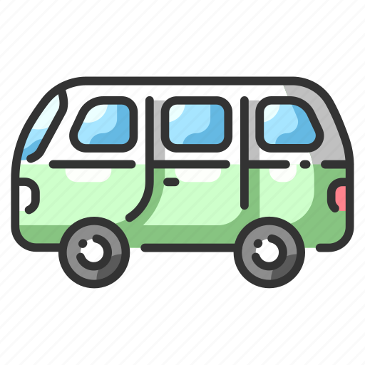 automobile, car, commercial, drive, minibus, speed, vehicle icon