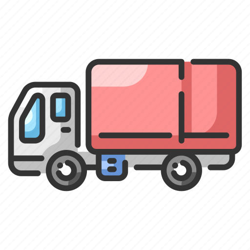 automobile, car, drive, logistic, lorry, truck, vehicle icon